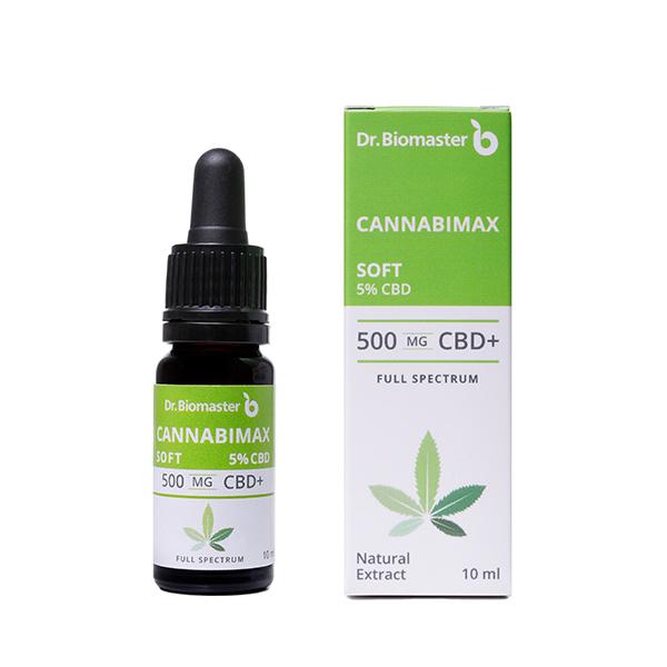 Конопено масло Канабимакс Софт 5% CBD
