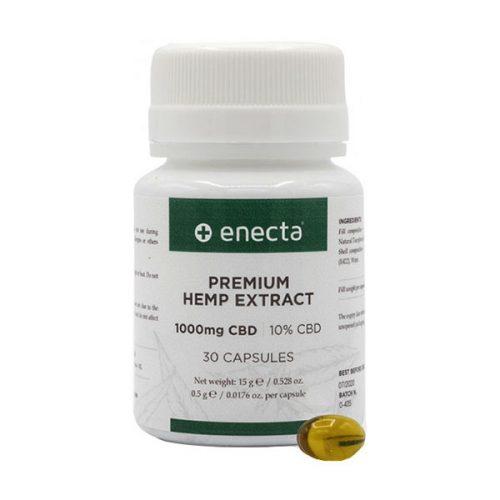 Капсули с масло от семената на индустриален коноп - Enecta
